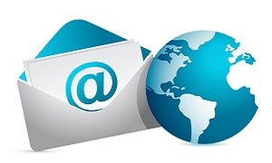 email-and-earth-icon